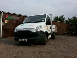 One of our delivery vans