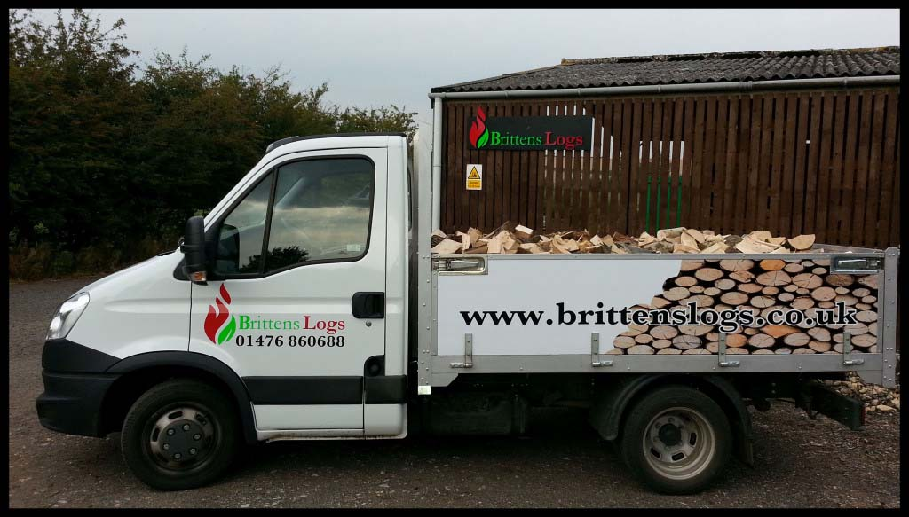 One of our custom designed delivery vans